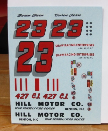 #23 Hill Motor Co Buren Skeen 1964 Ford PPP