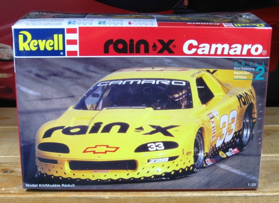 Revell #33 Rain X Camaro SCCA Kit Sealed