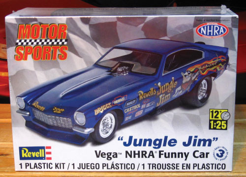 Revell Jungle Jim Vega Funny Car Kit 2011 Issue Sealed