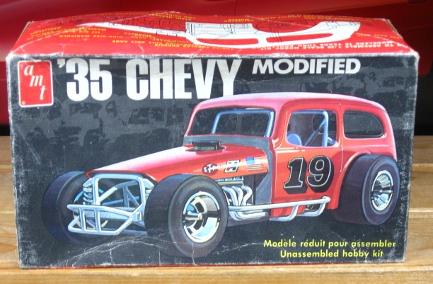 AMT '35 Chevy Modified Kit Orignial 1970's Issue