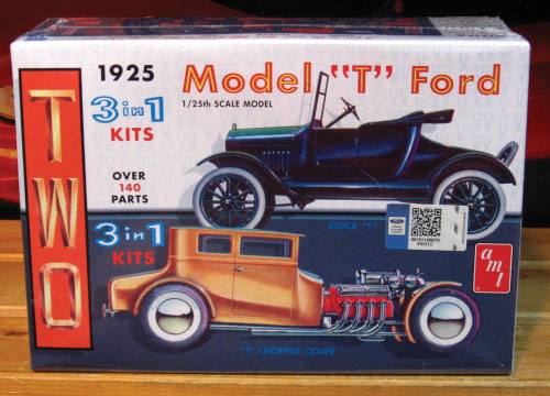 AMT 1925 Model T Ford Coupe & Roadster Kit #626