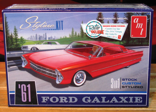 AMT 1961 Ford Galaxie Kit 2011 Issue