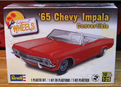 Revell 1965 Chevy Impala Convertible Kit 2012 Issue