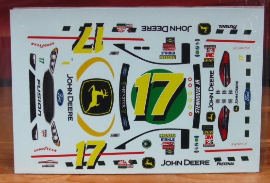 #17 John Deere Ricky Stenhouse 2018 Darlington