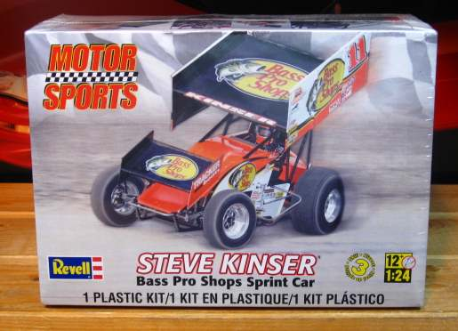 Revell Steve Kinser Bass Pro Shops Sprint Car Kit Sealed