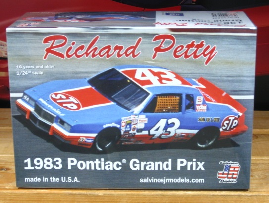 #43 Richard Petty 1983 Grand Prix JR-Salvinos Kit NEW!