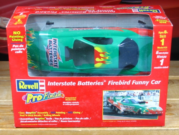 Revell Pro Finish Interstate Firebird Funny Car