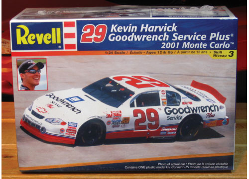 #29 Goodwrench Kevin Harvick 2001 Monte Carlo Kit Sealed