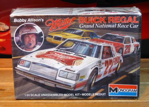 #22 Miller Bobby Allison 1983 Buick Kit Sealed
