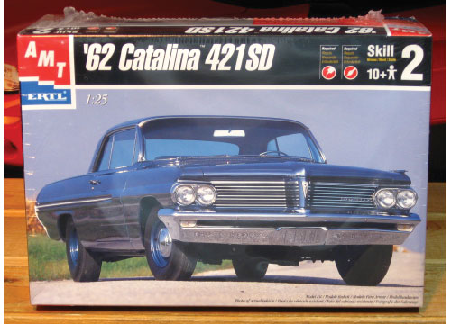 AMT 1962 Pontiac Catalina 421 SD Kit Complete
