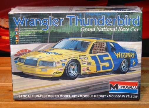 #15 Wrangler Dale Earnhardt 1983 Thunderbird Kit Sealed