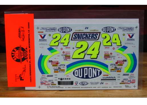 #24 DuPont Jeff Gordon 1994 Slixx