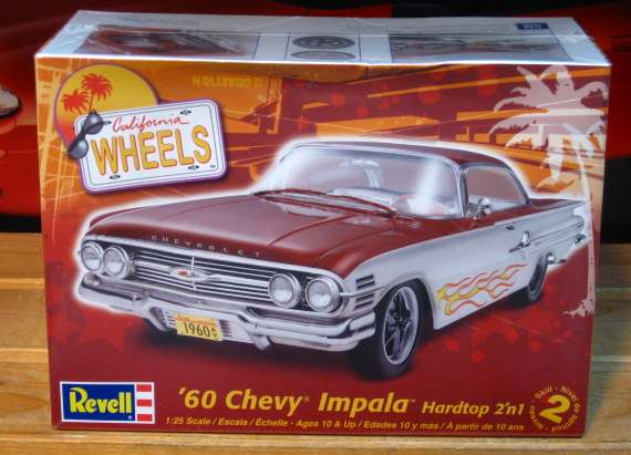 Revell 1960 Chevy Impala Hardtop Kit 2009 Issue