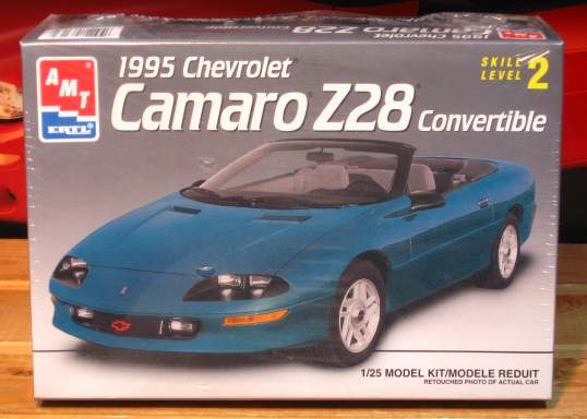 AMT 1995 Camaro Convertible Kit Sealed