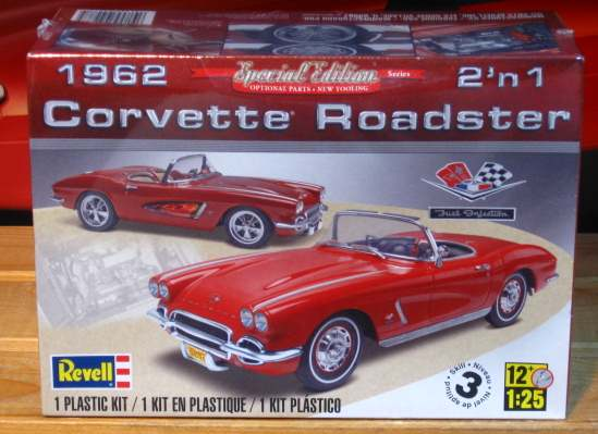Revell 1962 Corvette Special Edition Series Sealed