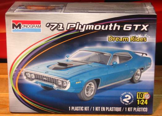 Monogram 1971 Plymouth GTX Dream Rides 2012 Issue