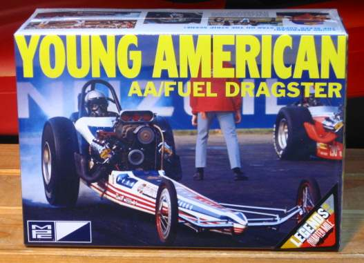 MPC Young American AA/Fuel Dragster Kit Sealed