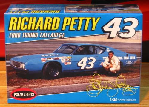 #43 Petty Torino Talladega Polar Lights NEW 2012 Issue