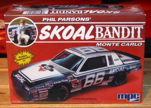 #66 Skoal Bandit Phil Parsons 1985 Monte Carlo MPC Kit Sealed