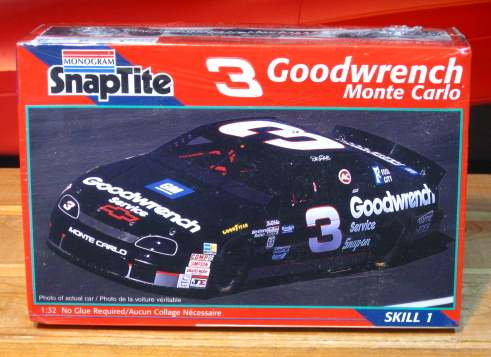 Monogram # 3 Goodwrench Dale Earnhardt 1996 1/32 Scale Kit Sealed