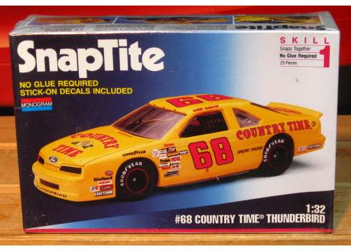 Monogram #68 Country Time Bobby Hamilton 1993 1/32 Scale Kit Sealed