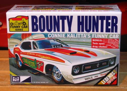 MPC Bounty Hunter Connie Kalitta Mustang Funny Car