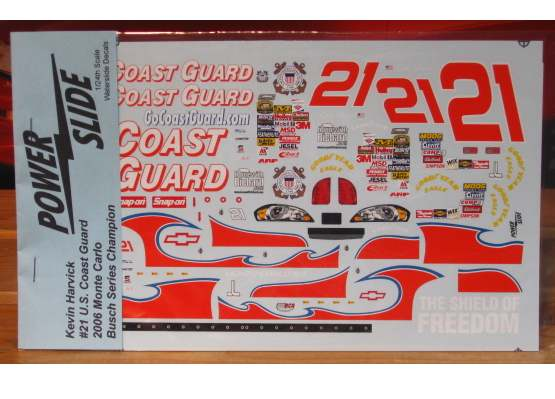 #21 Coast Guard Kevin Harvick 2006 Powerslide