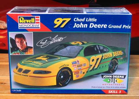 #97 John Deere Chad Little 1997 Grand Prix Revell Kit Sealed