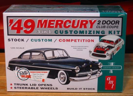 AMT 1949 Mercury 3 in 1 Customizing Kit Sealed