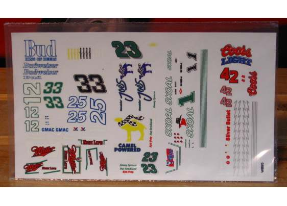 1/64 Scale Nascar Decals Group #2