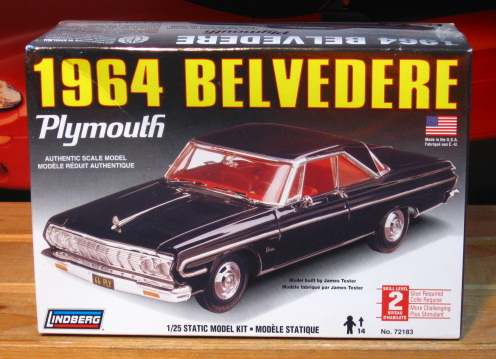 Lindberg 1964 Plymouth Belvedere Kit Sealed
