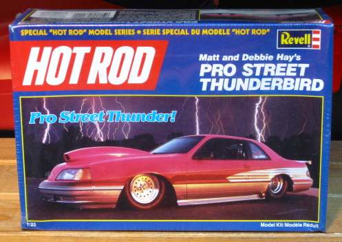 Revell Hot Rod Pro Street Thunderbird Kit Sealed