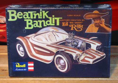 Revell Beatnik Bandit Ed Roth 2004 Issue Sealed