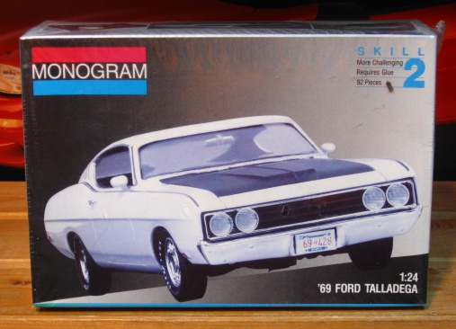 Monogram 1969 Ford Torino Talladega Kit Sealed