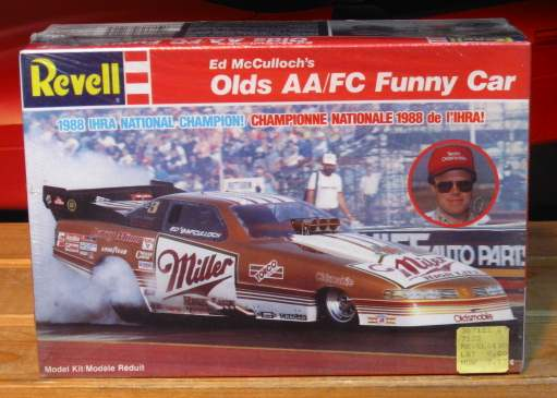 Revell Miller Olds Funny Car Kit Sealed