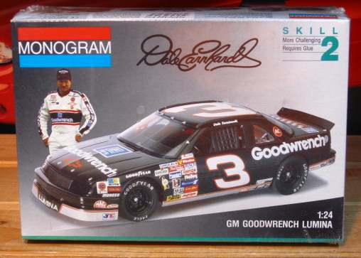 # 3 Goodwrench Dale Earnhardt 1991 Lumina Monogram Kit Sealed