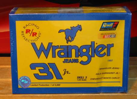 #31 Wrangler Dale Earnhardt Jr Racing Reflections Kit Sealed