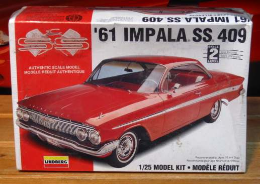 Lindberg 1961 Impala SS Kit Sealed