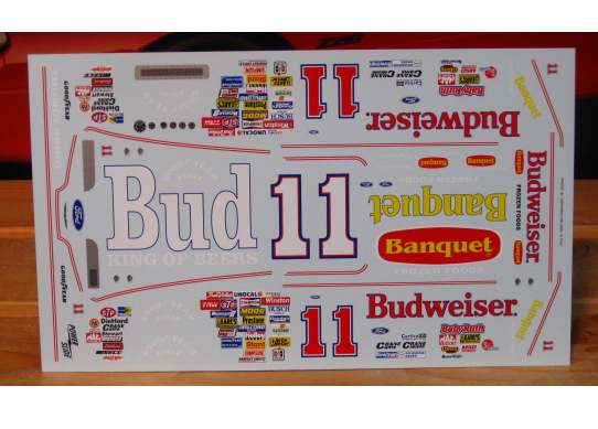 #11 Budweiser Terry Labonte 1989 Thunderbird Powerslide