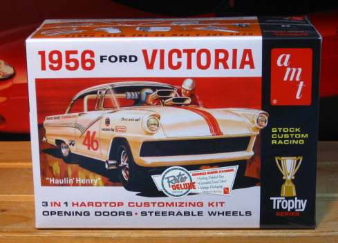 AMT 1956 Ford Victoria 3 in 1 Kit Sealed