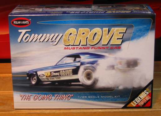 Polar Lights Tommy Grove Mustang Funny Car Kit Sealed