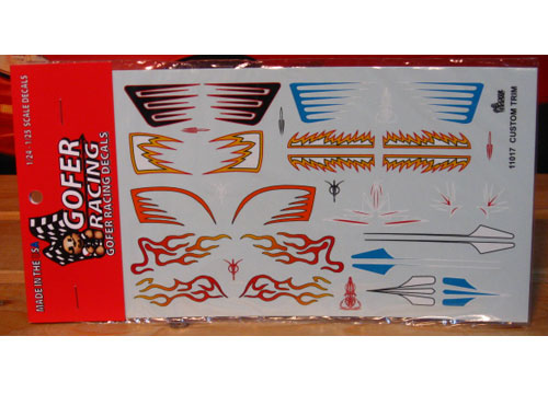 Gofer Decals #11017 Custom Trim Graphics