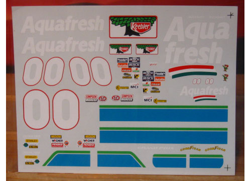 # 00 Aquafresh Buckshot Jones 1997 Grand Prix