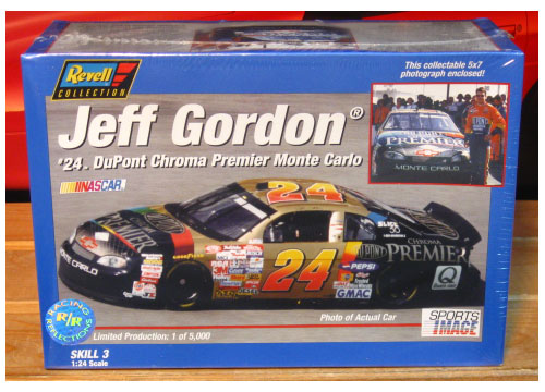 #24 Dupont Chroma Premier Jeff Gordon '97 Monte Carlo Kit Sealed