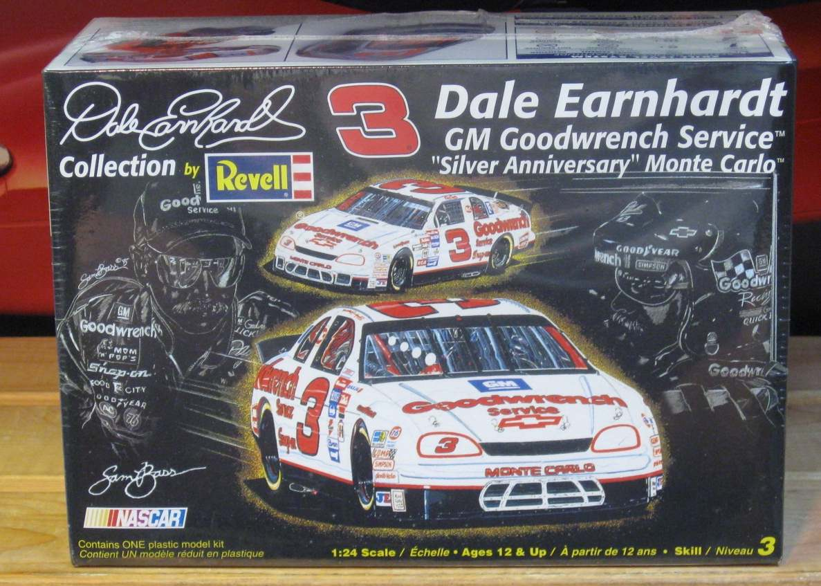 # 3 Goodwrench Silver Dale Earnhardt Revell Collection Kit