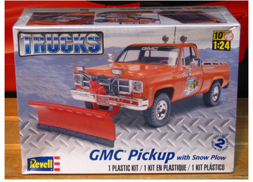 Revell GMC Pickup with Snow Plow 2012 Issue Sealed