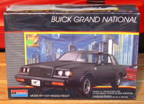 Monogram 1987 Buick Grand National Original 1988 Issue