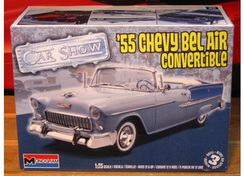 Monogram 1955 Chevy Bel Air Convertible 2010 Issue Sealed