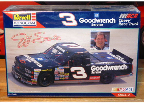 # 3 Goodwrench Chevy Truck Jay Sauter Revell Kit Sealed