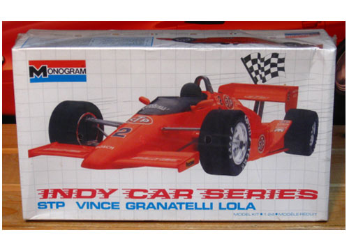 Monogram STP Vince Granatelli Lola Indy Car Sealed